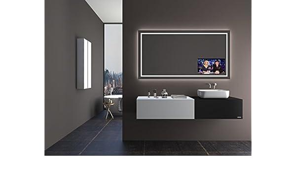 Unbekannt TV Espejo T402 con a + + LED Iluminación – (B) 170 cm x ...