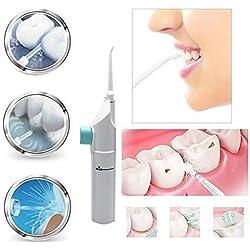 YXYXN Tooth Cleaner, Water Flosser, Dental Hygiene Oral Irrigator, Dental Water Jet Teeth Oral Care, Dental Cleaning Whitening Cleaner