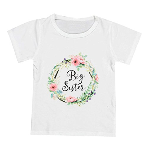 deeseetm-kids-baby-clothes-girls-short-sleeve-letter-floral-sister-t-shirt-tops-outfits-height100cm