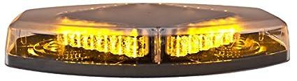 HELLA H27995031 Mini LED Light Bar 50 Magnetic Mount Amber//White 12//24V