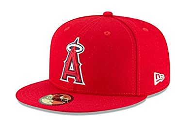 New Era Youth Los Angeles Angels Authentic Collection 5950 Fitted Hat Cap 18GM 70425541
