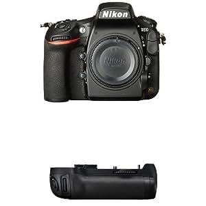 Nikon D810 FX-Format DSLR Camera Body + Nikon MB-D12 Battery