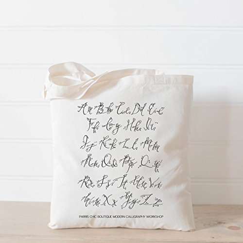 Calligraphy Tote Bags - 9