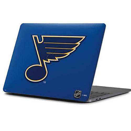 Price comparison product image Skinit NHL St. Louis Blues MacBook Pro 13-inch (2016-17) Skin - St. Louis Blues Solid Background Design - Ultra Thin,  Lightweight Vinyl Decal Protection