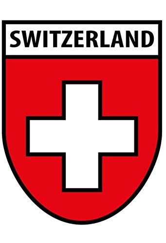 Switzerland Coat - FDerks Switzerland Coat of Arms Design Vintage Industrial Poster Home House Coffee Beer Drink Bar 18 x 24 Inches