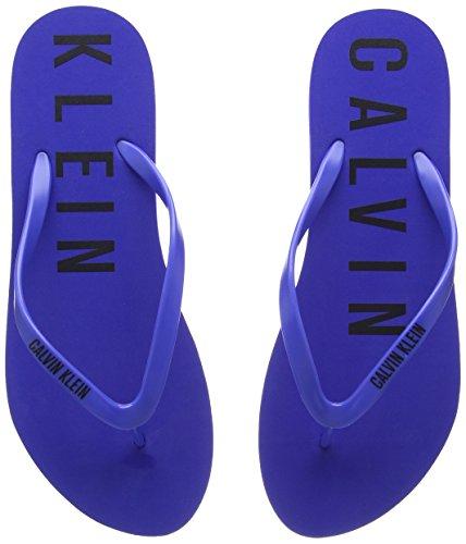 Calvin Flip Klein Bleu Femme Intime Flop wRzqawOn