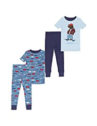 Saint Eve Kids Boys 4 Piece Pant Pajama Set
