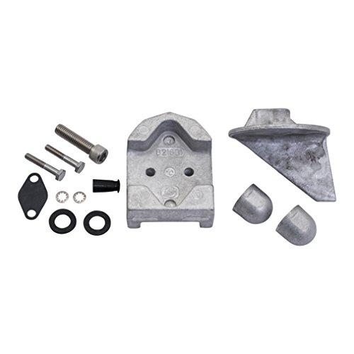 - Quicksilver 888756Q04 Aluminum Anode Kit - MerCruiser MR and Alpha One Drives