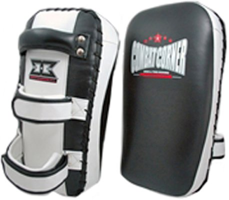 "Combat Corner ""13"" Muay Thai Pads Kickboxing kick knee training 15x7.5x5 TP-13"