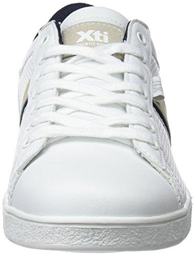 48029 Da Bianco Ginnastica white Scarpe Uomo Xti Basse AFx8nqZqB