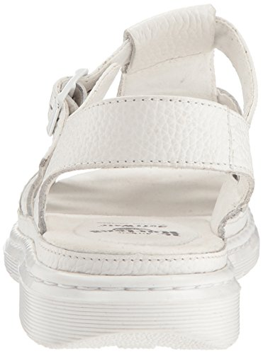 Sandales Bout Femme Carolyn Ouvert Dr 100 white Blanc Martens Ii nqOwnZp