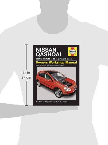 Nissan Qashqai Petrol & Diesel 07 - 13 56 To 13 Service & repair manuals: Amazon.es: Peter T. Gill: Libros en idiomas extranjeros