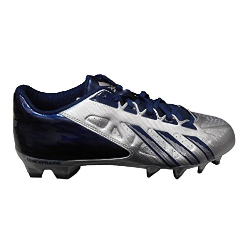 Adidas Men's Filthy Quick Low Football Cleat , Platinum|Navy, Size 10