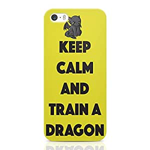 Loud Universe Train your Dragon iPhone SE Case Yellow Type iPhone SE Cover with 3d Wrap around Edges