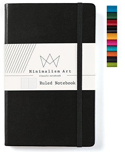 (Minimalism Art | Classic Notebook Journal, Size: 5