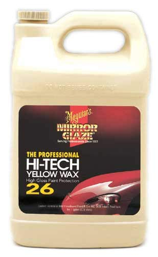 Meguiar's Mirror Glaze Hi-Tech Yellow Wax - Quality, hand-applied polish for your Car, RV, Boat,...