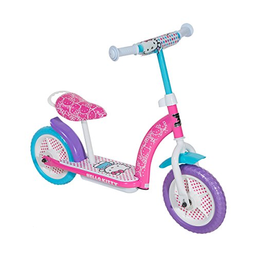 Hello Kitty Fender - Hello Kitty 2-in-1 Scooter, Pink/White/Blue/Purple, 10