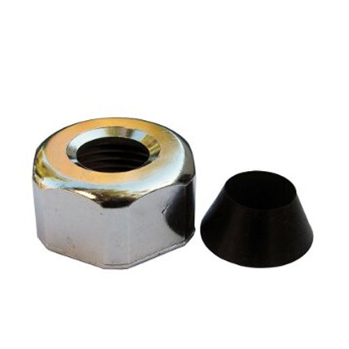 LASCO 03-1811 3/4-Inch by 1/2-Inch Slip Joint Nut Wither Washer Makes Leak Proof Slip Join Connection