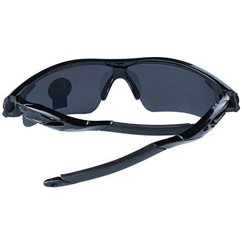 De La ANVEY Aire Negro Moda Ciclismo Gafas Gafas Para Gafas Libre Montura Conducción Sol Bicicleta Lentes De de Deportes Al Pesca Negro UrxORwBUq