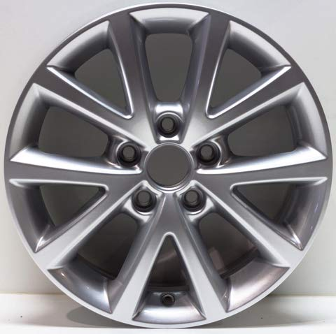Vw Golf Rim Wheel (New 16 inches Replacement Alloy Wheel Rim compatible with 2010-2017 VW VolkswagenJetta 69897)
