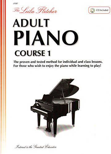 LF007 - The Leila Fletcher Adult Piano Course - Book 1 - Fletcher Piano