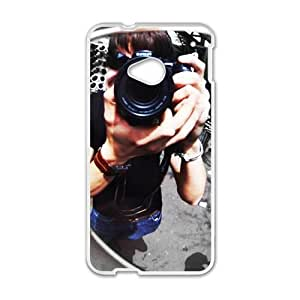 Sunglass Image Fashion Personalized Clear Cell Phone Case For HTC M7