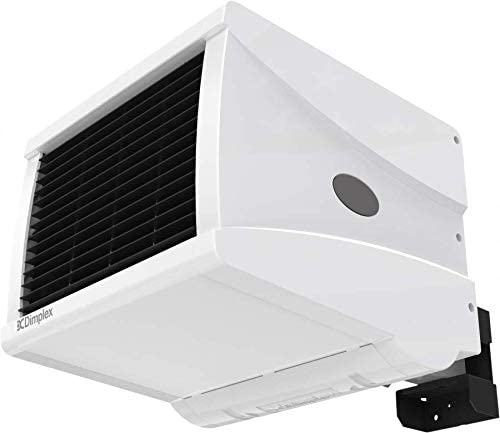 Dimplex CFS60E 6KW Wall Mounted Commercial Fan Heater Lot 20, 2 Heat Settings and Cool Blow 7 Day Timer