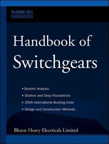 Handbook of Switchgears (Mcgraw-hill Handbooks)