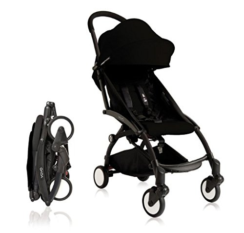 Babyzen YOYO+ Stroller - Black (Best Car Seat Travel Bag 2019)