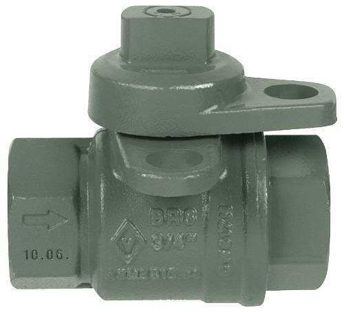 Jomar International 240-004P Lockwing Utility Gas Meter Valve, 3/4