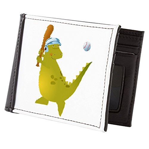 Teague Baseball Playing Truly Billfold Truly Teague Wallet Men's Dinosaur Pn6ZEcqw