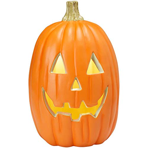 Home Accents Tall Realistic Lighted Jack O Lantern Pumpkin Halloween Decoration Prop 16