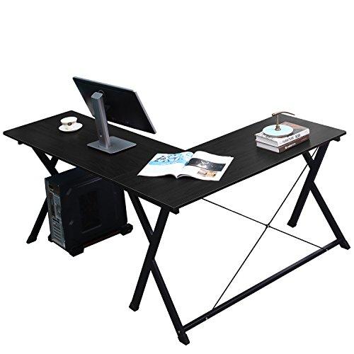 DlandHome L-Shaped Computer Desk 47