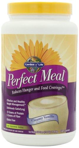 Garden of Life Parfait repas Vanilla Agiter Mix, 658 g de poudre