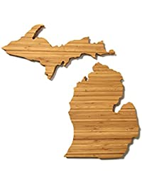 Favor AHeirloom State of Michigan Cutting Board discount