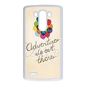 Adventure Is Out There For LG G3 Case Cell phone Case Lvop Plastic Durable Cover