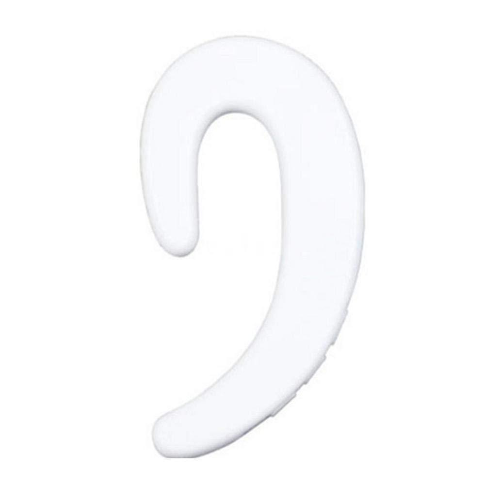 Bluetooth Headset Ear-Hook Wireless Headphones, Bone Conduction Headphones with Earpieces Pouch No Ear Plug Earbuds