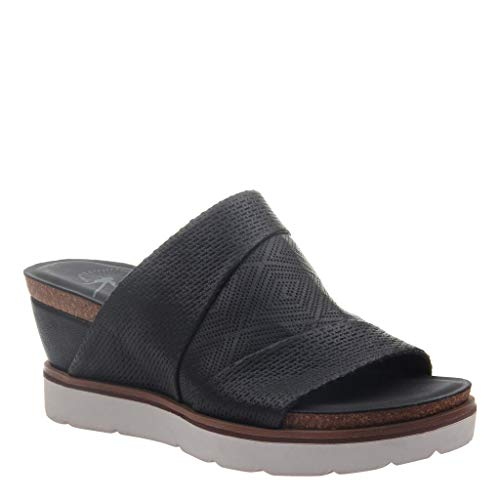 OTBT Women's Earthshine Wedge Sandals - Black - 8.5 M US