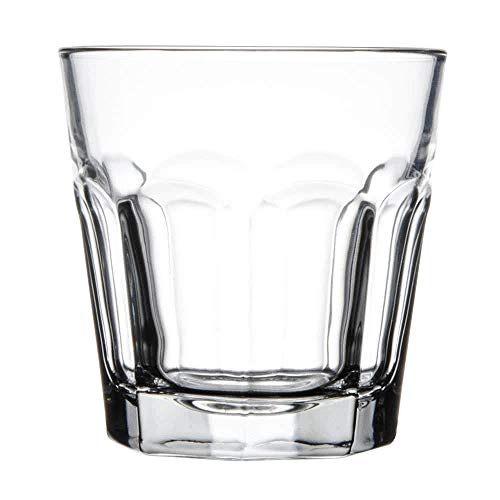 Libbey 15241 Gibraltar DuraTuff 7 oz Rocks Glass , SET OF 6 w/ Signature Party -