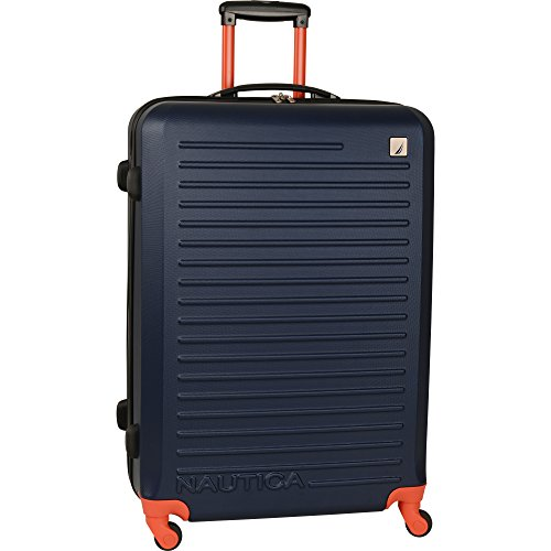 nautica-tide-beach-28-inch-hardside-spinner-suitcase-classic-navy