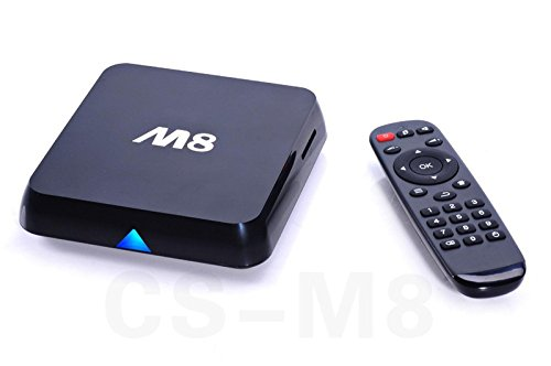 Dragon-Best M8 Amlogic S802 Quad Core Cortex A9 2.0GHz Bluetooth 2.4G/5G Dual Wifi XBMC Streaming Player 4K Hdmi Android 4.4 KitKat OS Smart TV Box 2G/8G