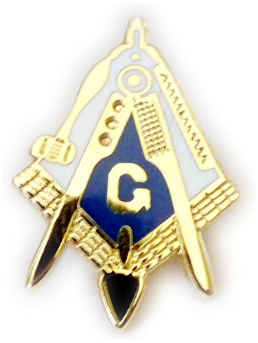 Working Tools Trowel Gavel Master Masonry Masonic Freemason Hat Tie Tack Lapel Pin