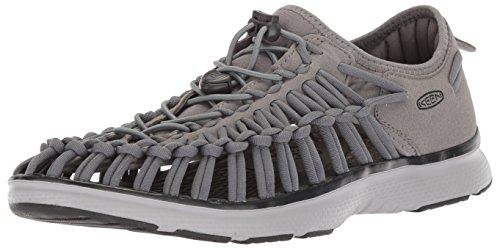 - KEEN Men's Uneek O2-M Sandal, Steel Grey/Raven, 11 M US