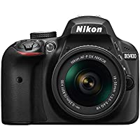 Nikon D3400 w/AF-P DX NIKKOR 18-55mm f/3.5-5.6G VR (Black)
