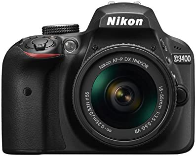 Nikon D3400 Cámara réflex digital con objetivo Nikkor AF-P 18/55vr ...