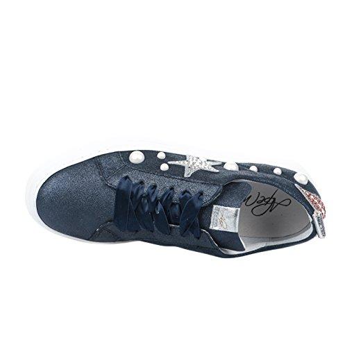 ALPE Mode Marine Baskets Bleu Femme HqX6qwP