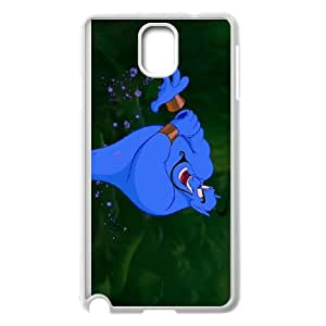 Samsung Galaxy Note 3 Cell Phone Case White Disney Aladdin Character Genie 007 KI5925592