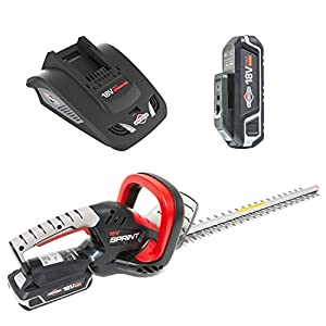 Sprint 18V Lithium-Ion Hedge Trimmer Kit 18HTK, 51 cm Blade, Including 2,5Ah Battery and Charger, 5 Years Warranty, Red