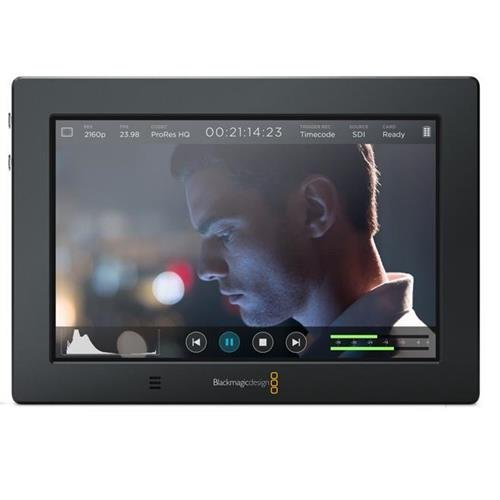 Blackmagic Design Video Assist 4K, 7'' High Resolution Monitor with Ultra HD Recorder by Black Magic
