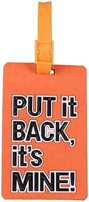 Etiqueta de equipaje de viaje Identificador de equipaje útil Caso de tarjeta de etiqueta de maleta [G]